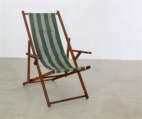 Canvas Deck Chairs - 10 easy pieces folding deck chairs gardenista