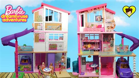 videos de casas de barbie nueva casa de barbie con literas y piscina dreamhouse
