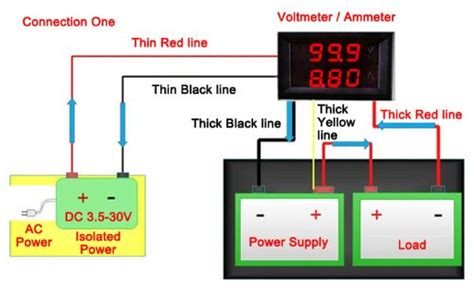 dc voltmeter wiring diagram repair wiring scheme