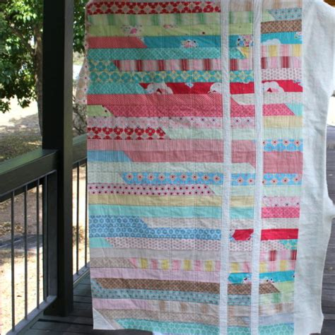 Jelly Roll Quilt Race by Jelly Roll Quilts From Craft Retreat The Crafty Mummy