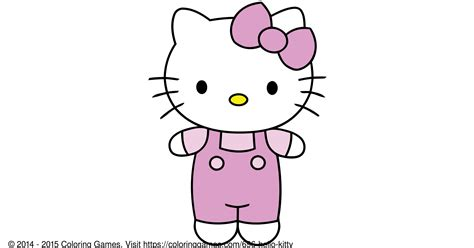 hello kitty coloring games and coloring pages