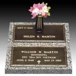 grave markers veteran bronze headstones veteran grave markers and gravestones