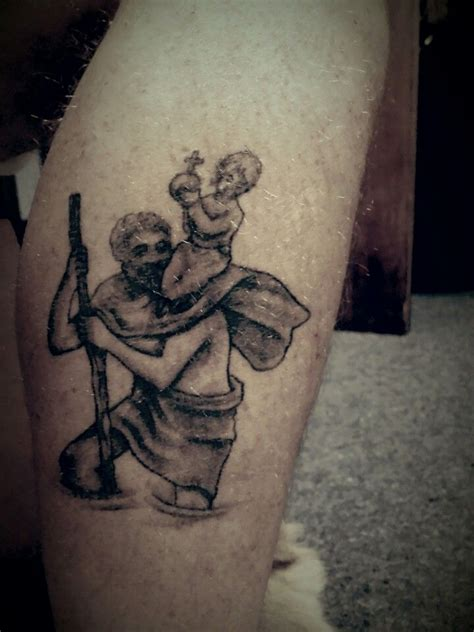 tr st tattoos ideas 25 best ideas about st christopher on