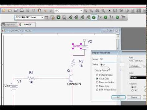 bjt transistor in pspice transistor circuit biaspoint calculation using orcad pspice