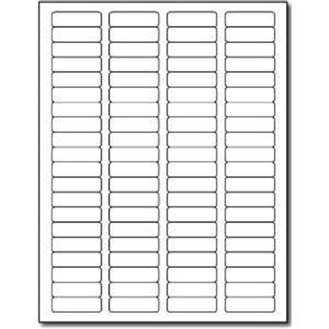 Avery Template 5195 For Microsoft Word return address labels 1 75 x 0 666 60 labels per sheet