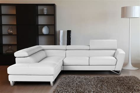 Sparta Italian Leather Modern Sectional Sofa Sectional Modern Sofa