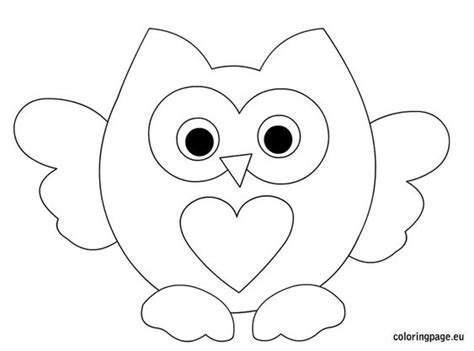 valentine owl coloring page pinterest the world s catalog of ideas