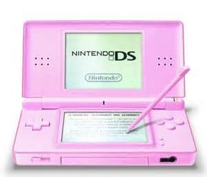 nintendo ds lite pink ds lite pink console