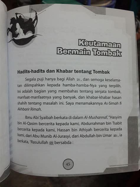 Agar Rumahmu Tak Seperti Kuburan Zam Zam Karmedia buku berenang memanah dan berkuda toko muslim title