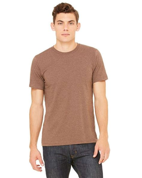 Shoo Bsy Brown canvas 3001c unisex jersey sleeve t shirt