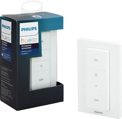 Philips Hue Dimmer Switch philips hue wireless dimmer switch with remote white