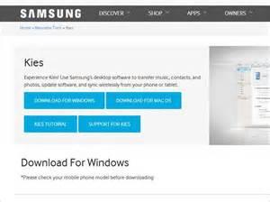 Hoe download installeer deinstalleer en update je samsung kies op pc