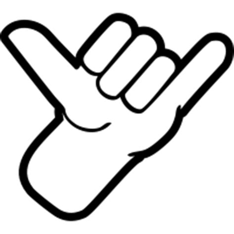 hangloose Gallery Clip Art Hang Loose