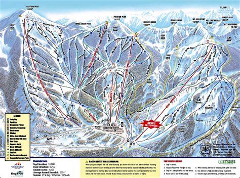 500 Ft To Miles by Brighton Ski Resort