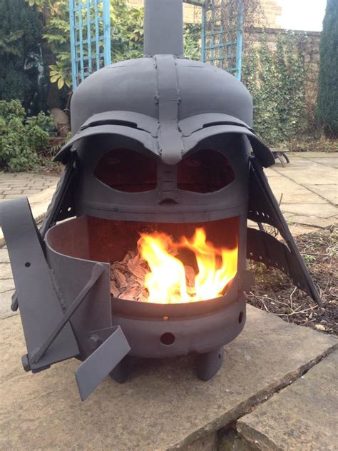 diy darth vader pit diy outdoor gas pit
