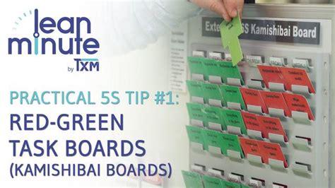 Kamishibai Card Template by Txm Lean Minute Green Task Boards Kamishibai
