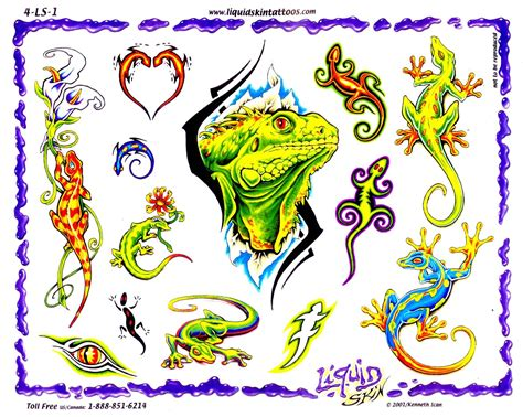 lizard tattoos designs lizard tattoos