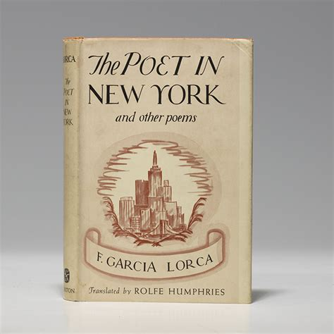 libro poet in new york poet in new york first edition federico garcia lorca bauman rare books