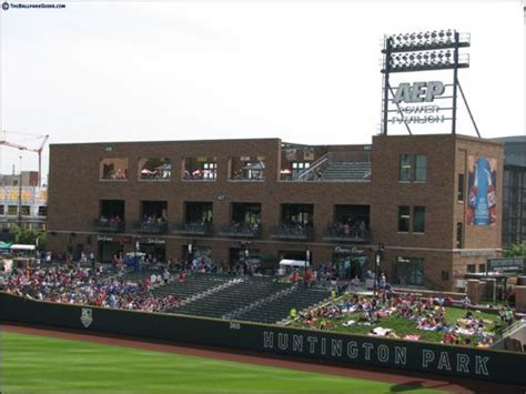 huntington park huntington park 187 official bpg review photos columbus clippers theballparkguide