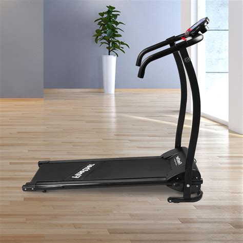 Treadmill Elektrik Id6638 Treadmill Elektric Treadmill Electric finether 600w folding electric motorized treadmill running