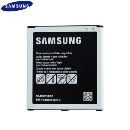 official samsung galaxy j5 2015 battery eb bg531bbe 2600mah