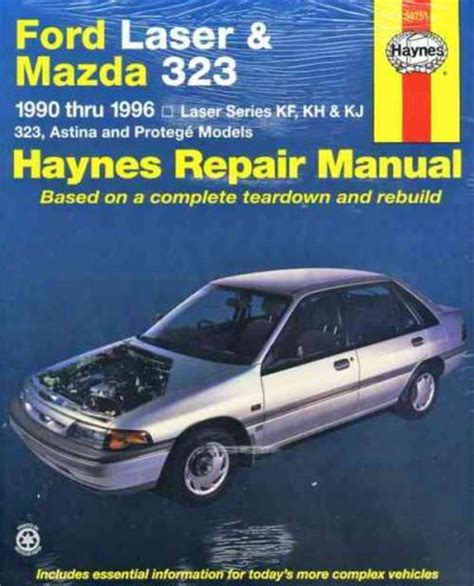 1991 mazda 323 and protege repair shop manual original ford laser mazda 323 1990 1996 haynes repair manual sagin workshop car manuals repair books