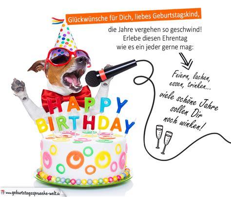 Geburtstag Kinder Bilder by Bunte Geburtstagskarte Mit Gedicht Zum Geburtstag Und Hund