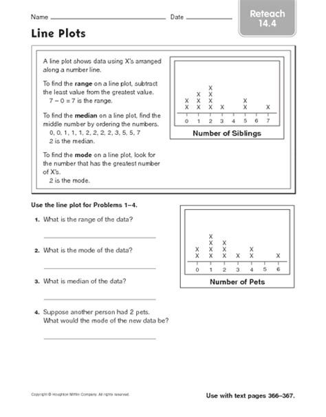 fraction line plots worksheets 5th grade piegraph