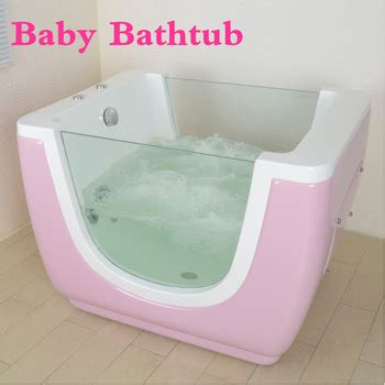 Clear Glass Bathtub New Invention 2017 Baby Acrylic Whirlpool Massage Jets