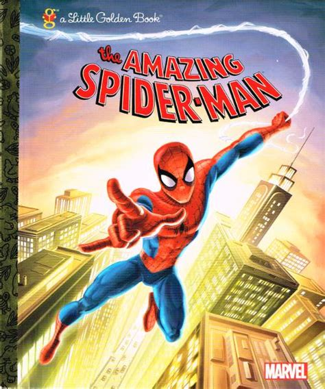 the amazing spider marvel spider golden book spiderfan org comics the amazing spider