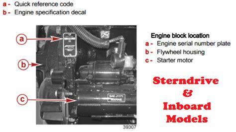 mercury boat motor vin decoder mercury marine parts diagrams for mariner mercruiser