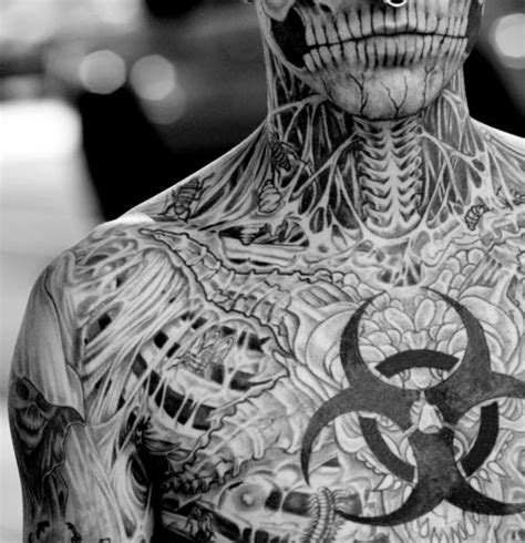 rick rocks tattoo 63 best images about rick genest on rick