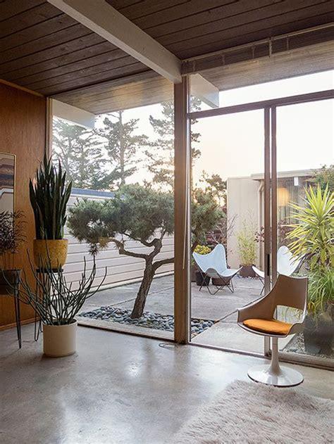 beautiful indoor courtyard gardens homemydesign