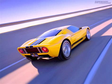 Concept Ford Gt by 2002 Ford Gt40 Concept Ford Supercars Net
