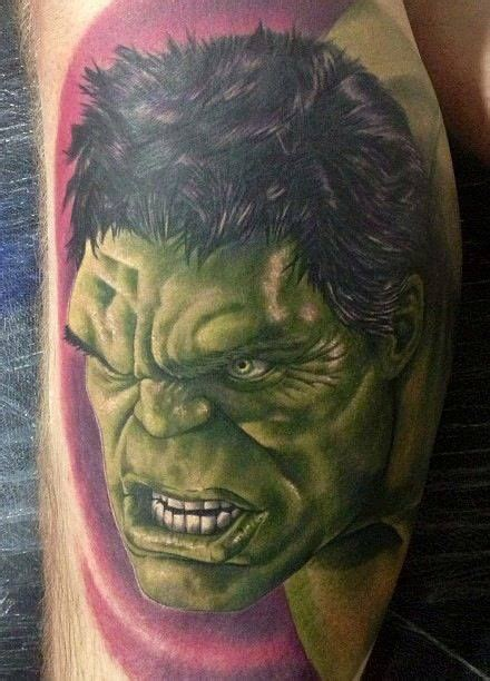 incredible hulk tattoo designs the and