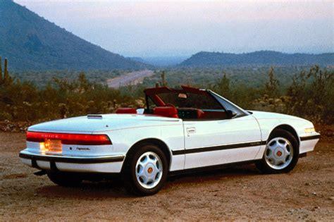 1990 buick reatta convertible 1990 91 buick reatta consumer guide auto