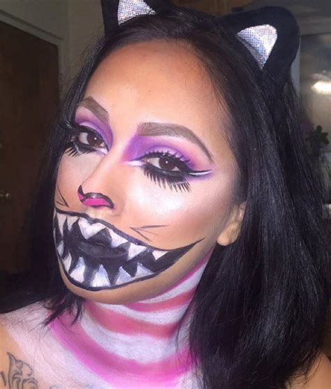 cat makeup cheshire cat makeup ideas mugeek vidalondon