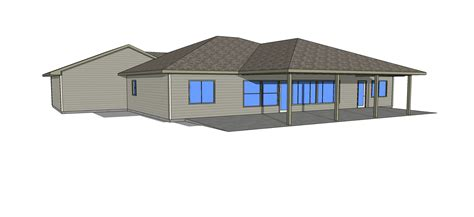 house plans with view in back the bow manor efficient and affordable spokane house plans and design