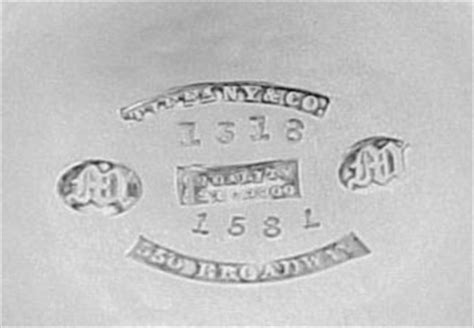 tiffany date letters and marks: an article for ascas