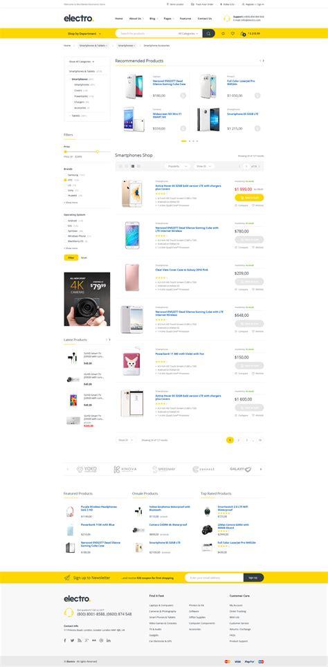 Woocommerce Theme Listview | electro electronics store woocommerce theme by
