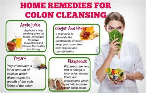 Detox Recipe For Cleaning Out Intestines by Top 45 Home Remedies For Colon Cleansing Detox