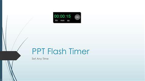 Ppt Flash Timer T Ltc Clock Powerpoint Countdown Clock