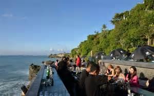 Cliff Top Bar Bali by Rock Bar At Resort Spa Bali Indonesia Asia