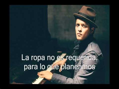 biography de bruno mars en ingles letra quot our first time quot ingl 233 s y espa 241 ol bruno mars spain