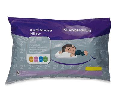 Special Sleeping Pillows Anti Snore Pillow 7 99 Aldi Special Buy Thurs 14 Jan