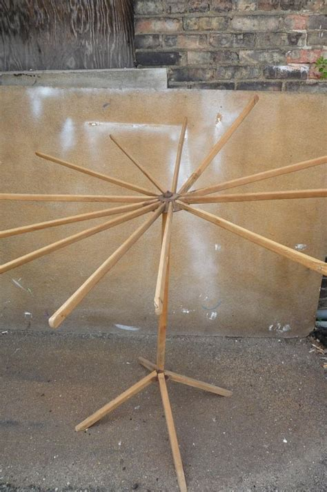 Fold Out Drying Rack by Antique Drying Rack Fold Out Clothes Standing Tripod