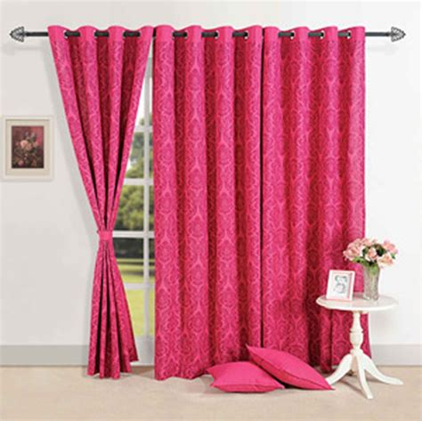 magenta curtain panels magenta delight door curtain online shopping