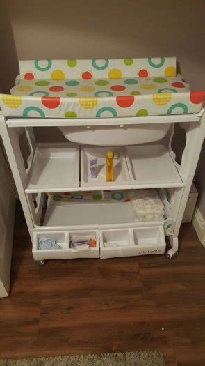 Baby Changing Table With Fitted Bath For Sale In Kilcock Baby Change Table Sale