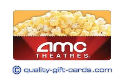 Amc Theaters Gift Card Balance - 100 amc theatres gift card 94 quality gift cards