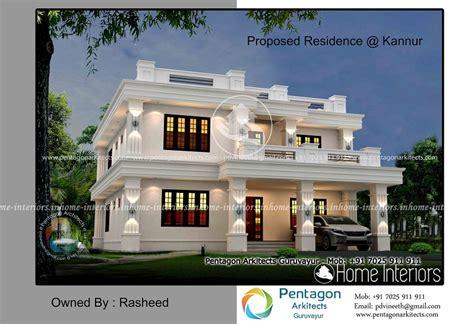 home designer pro square footage 3244 square feet double floor contemporary home design